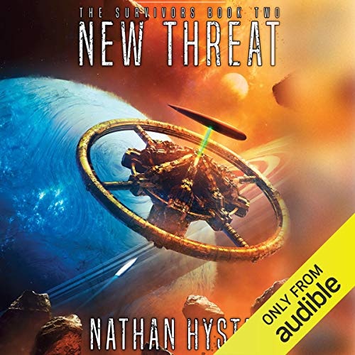 New Threat audiobook cover art