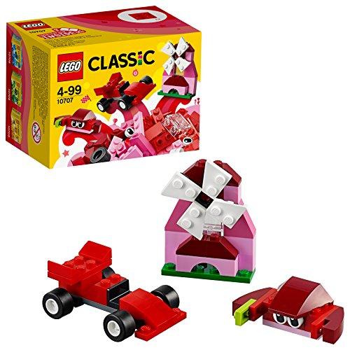 LEGO Classic Spiderman Caja Creativa De Color Roja, Miscelanea (10707)