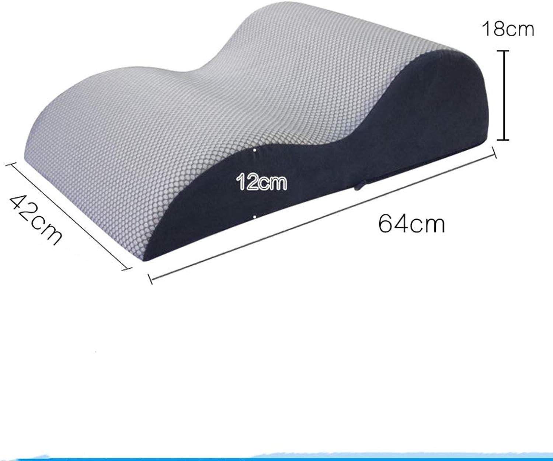 Leg Rest Pillow with Memory Foam Pregnant Woman Bed Lift Leg Pad Vein Pad Leg Pillow Leg Pillow Foot Pillow Sleeping Pillow,P