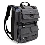 """Evecase DSLR Camera Backpack w/ 14"""" Laptop Compartment and Rain Cover for Digital"""