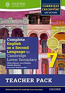 Complete English as a Second Language for Cambridge Lower Secondary Teacher Pack 7
