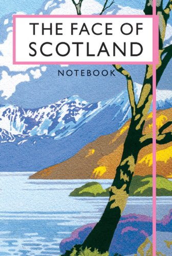 Brian Cook The Face of Scotland notebook (Beautiful Britain Vintage Notebooks)