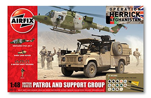 Airfix A50123 Modellbausatz British Forces - Patrol and Support Gr.