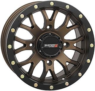 System 3 ST-3 14x7 ATV/UTV Wheel - Bronze (4/156) 5+2 [19-0064]