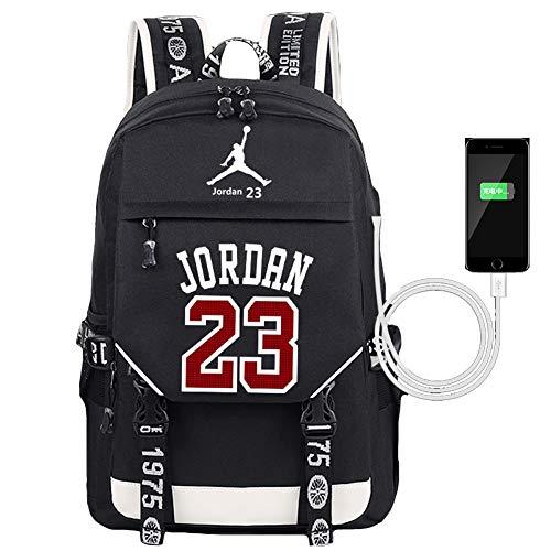 YOURNELO Basketball Player Rucksack School Backpack Bookbag (New 23)