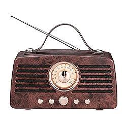 【Multifonctions】- Radio FM, Haut-parleur Bluetooth, AUX, Clé USB, Carte Micro TF, Appel mains libres, Portée maximale de 12 mètres, Bluetooth V4.2, parfaitement compatible avec Windows, Android, iOS,echo et plus. 【Son Stéréo】- Deux pilotes audio haut...