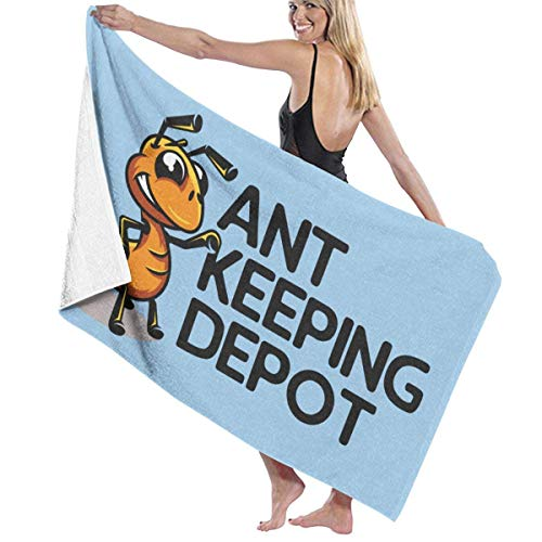 Lopez Kent Ant Keeping Depot Bath Towel Beach Spa Shower Bath Wrap Soft Light Comfortable Dries Fast