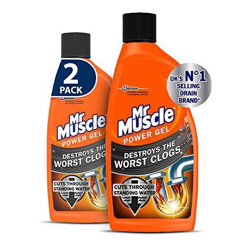 Mr Muscle Drain Unblocker, Sink & Drain Cleaner,...