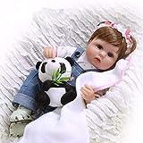 ZXYMUU Reborn Baby Dolls Soft Silicone 40 cm 17