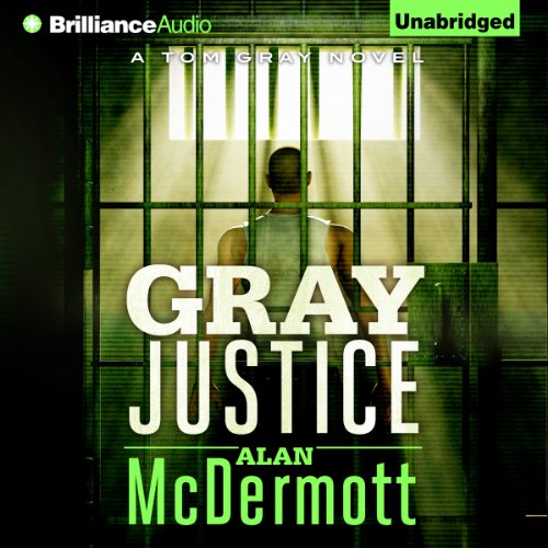 Gray Justice audiobook cover art