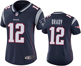 Women's New England Patriots #12 Tom Brady Color Rush Limited Jersey - Navy