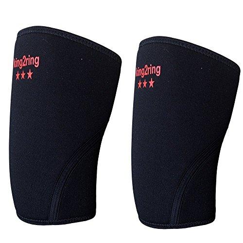 king2ring ニースリーブ ニーラップ 7mm厚 ネオプレン100% pk1400 S