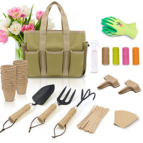 Colwelt Garden Tools Set - Heavy Duty Gardening Tool Set for Women with...