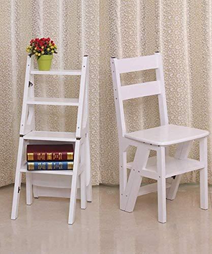 Tritthocker Massivholz Schritt Hocker Folding Haushalts Stair Chair Freizeit Bar Stuhl Indoor Multi-Funktions-Dining Chair Klettere die Leiter hoch (Color : 5#)