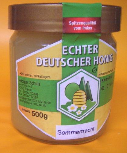 Deutscher Imker-Honig: Sommertracht 500g Glas