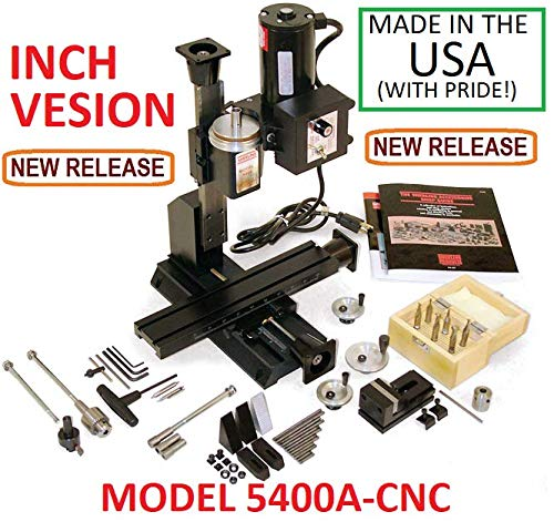 Find Bargain Sherline 5400A-CNC INCH Version 12 Milling Machine CNC Ready + Package A
