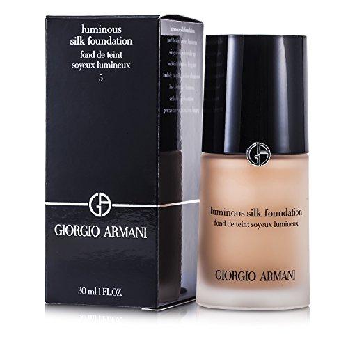 Giorgio Armani Luminous Silk Foundation - # 5 (Warm Beige) 30ml/1oz - Make-up