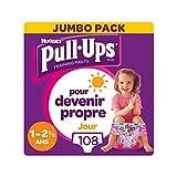 Huggies Pull-Ups Pañales de Aprendizaje, 8-17 kg, talla 1año - 2,5 años, 108 calzoncillos (4 x 27)