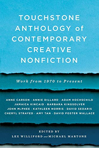 Compare Textbook Prices for Touchstone Anthology of Contemporary Creative Nonfiction: Work from 1970 to the Present 1 Edition ISBN 9781416531746 by Williford, Lex, Ed.