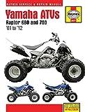 Yamaha Raptor 660 & 700 ATVs (01 - 12): '01 to '12 (Haynes Service & Repair Manual)