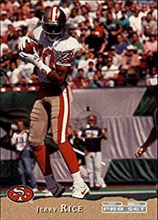 1993 Pro Set #395 Jerry Rice NFL Football Trading Card