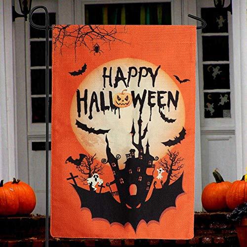 AerWo Halloween Garden Flag 12