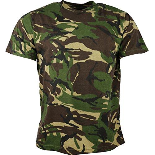 Kombat UK pour Homme Adulte, Camouflage, t-Shirts XL DPM Camo