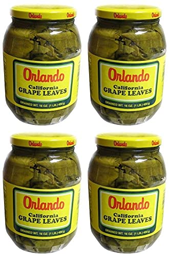 Portland Mall Orlando - California Grape Leaves 2 New product!! 4 Pack of Jars 16 oz.