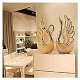 Escultura de escritorio 2 unids Cerámica Escultura Artesanía...