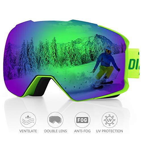 DISUPPO Gafas de Esquí