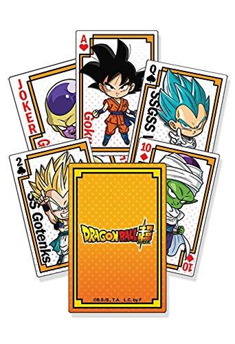 Great Eastern Entertainment Dragon Ball Super Goku SD Gruppe * 52 Playing Cards / Juego de...