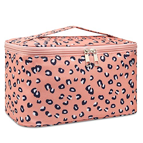 Travel Makeup Bag Large Cosmetic Bag Make up Case Organizer for Women and...