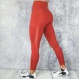 Shability Set De Yoga Set Transpirable Fitness Sports Traje Deportes Sujetador Alto Cintura Mujer Gimnasio Leggings Entrenamiento Pantalones Ropa Deportiva yangain (Color : Yoga Pants 1, Size : M)