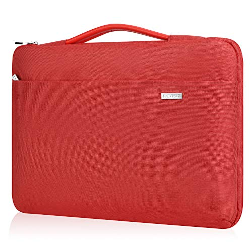 Landici Laptop Case Sleeve 13-13.3 Inch,360°Protective Slim Computer Cover Bag Compatible with MacBook Air 2020 M1,MacBook Pro M1,MacBook Pro Retina 2015,Dell XPS 13,Acer Hp ASUS Notebook,Red