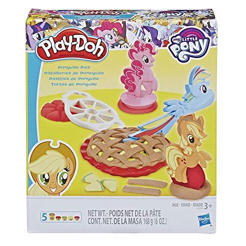 Play-Doh E3338EU4 My Little Pony Ponyville Kuchen, Knete