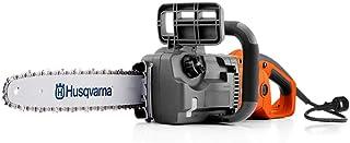 Husqvarna 414EL 120V 16 Inch 14.5 Amps Corded Electric Power Chainsaw, Orange