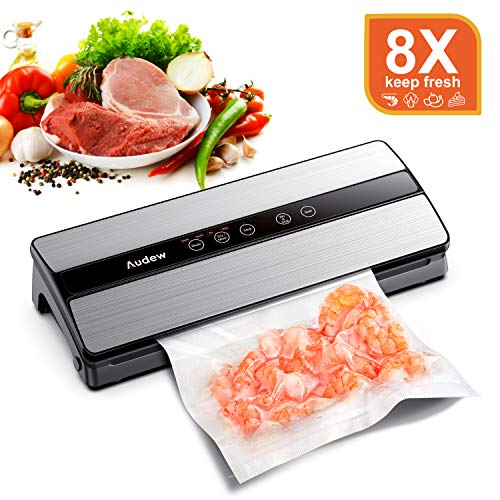 Audew Machine sous Vide Alimentaire, 80KPA Machine de Scellage...