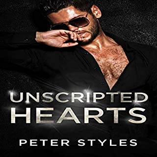 Unscripted Hearts audiobook cover art