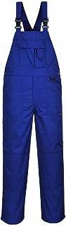 Nine Pocket Bib and Brace - Royal Blue Mens Work Bib Overalls Industrial