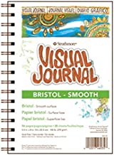"Strathmore 300 Series Visual Bristol Journal, 9""x12"" Smooth, Wire Bound, 28 Sheets"