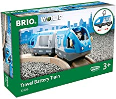 BRIO 33506 Travel Battery Train, 3 Pieces