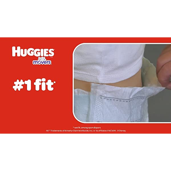 Huggies Little Movers Baby Diapers 4