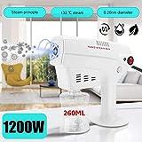 WLKQ 260Ml Desinfección Nano Steam Gun, SPA Humidificador desinfección y esterilización para el Cuidado del Cabello desinfección del hogar