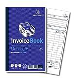 Challenge - Cuaderno de facturas duplicado (210 x 130 mm, 100 páginas, sin carbón), color Duplicate Invoice Book Set of 1