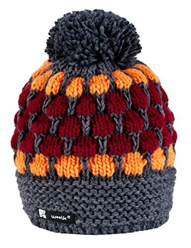 Unisex Winter Cappello Invernale di Lana Berretto Beanie Hat Pera Jersey Sci Snowboard di Moda (Jagger 11)