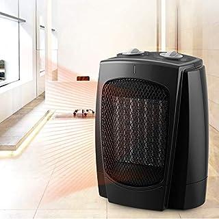 WSN Calefactor Portátil Eléctricocon termostato Ajustable ETL Funcionamiento silencioso Seguridad para el hogar Oficina doméstica Calentador Compacto Calentamiento rápido 1800 w Compacto, Negro
