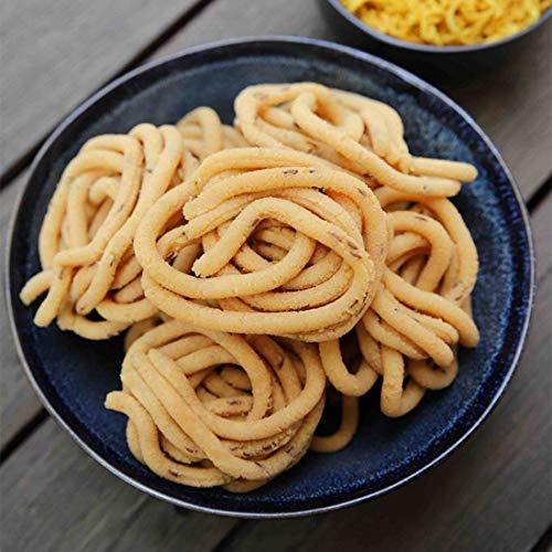 Kovilpatti Special Thenkuzhal Chilli Murukku - Festival Time Delicious Snacks - 150 Gram