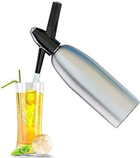 プロフェッショナルソーダ水サイフォン1Lアルミ製CO2スパークルソーダメーカーバーツール ハードウェアツール