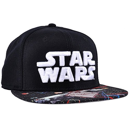 Bioworld Star Wars VII: The Force Awakens Falcon Fight Snapback Baseballl Cap