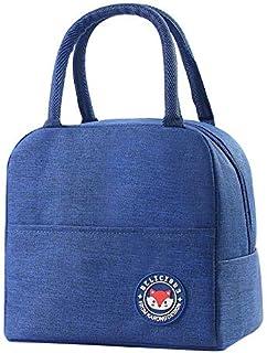 Geïsoleerde lunchtas, Bento Lunch Bag, Lunch Fruit Soft Drink Tote Bag Box Container Houder voor Vrouwen Mannen Studenten ...
